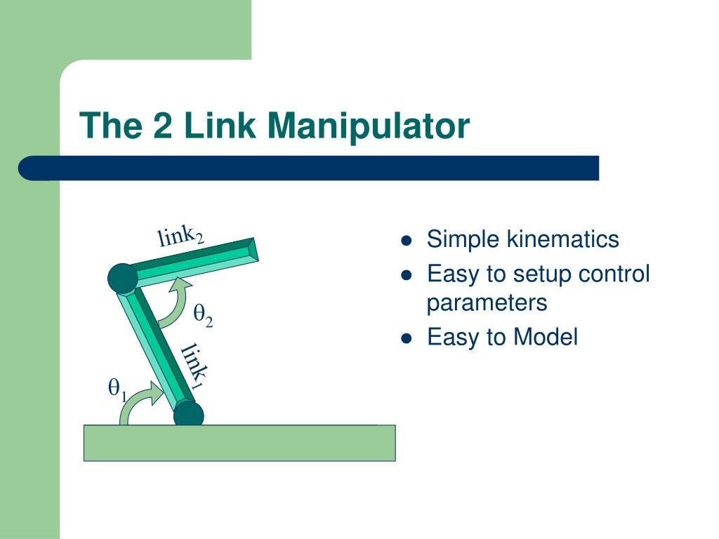 The 2 Link Manipulator