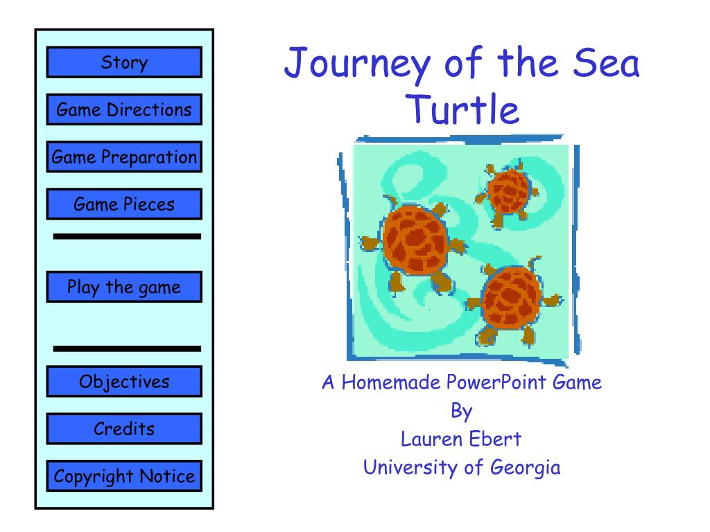 journey of the sea turtle l.