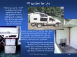 pv system for ute