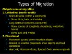types of migration6