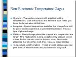 non electronic temperature gages