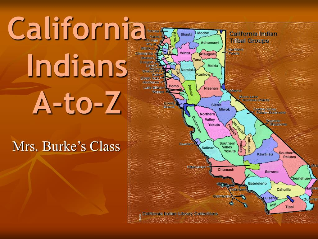 california indians a to z l.
