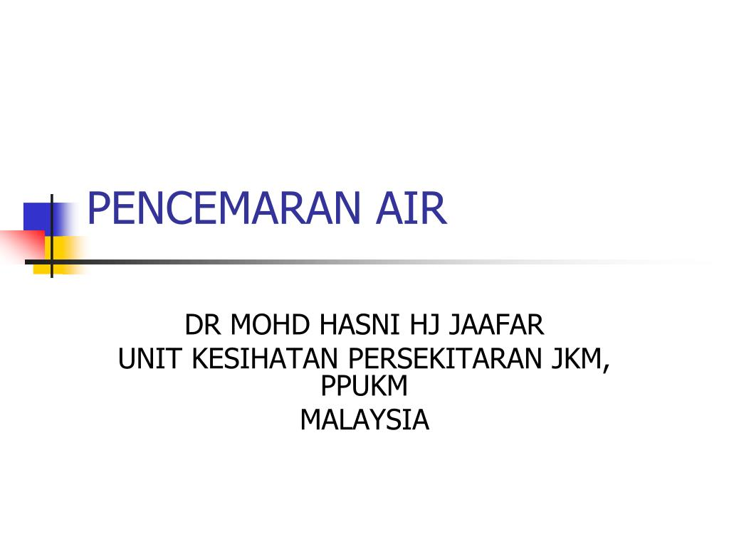 pencemaran air l.