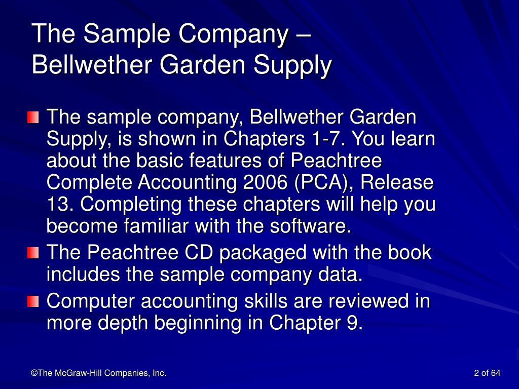 The Sample Company –