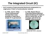 the integrated circuit ic