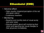 ethambutol emb