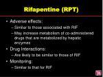 rifapentine rpt