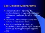 ego defense mechanisms17