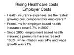 rising healthcare costs employer costs