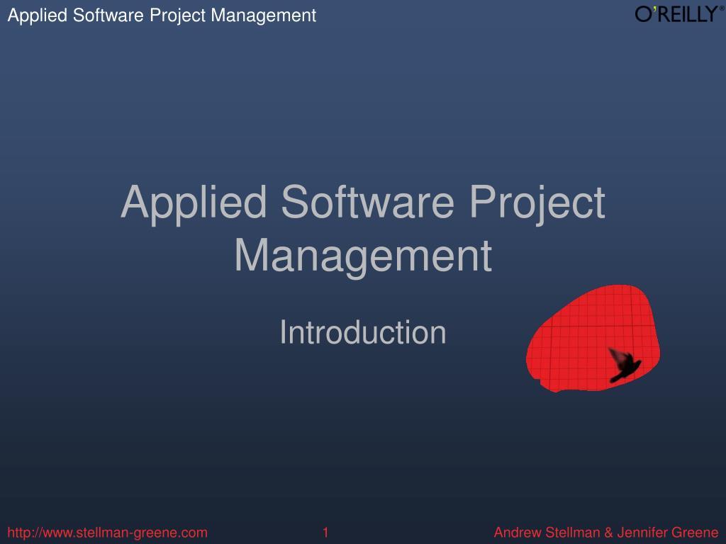 applied software project management l.