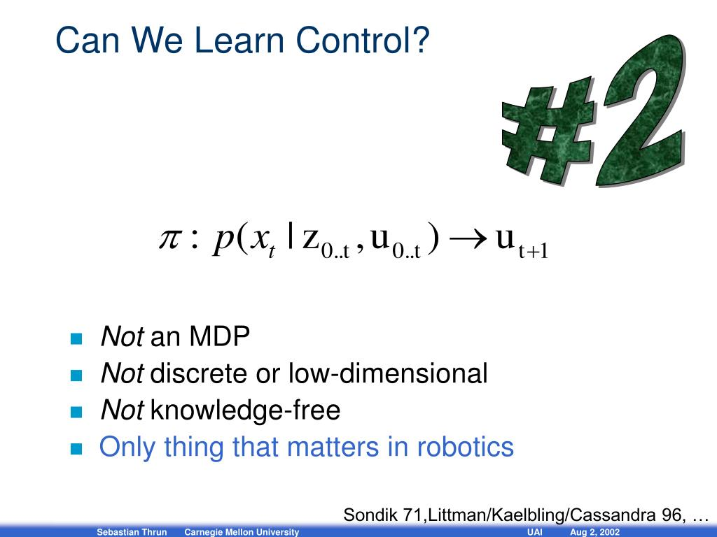 Can We Learn Control?