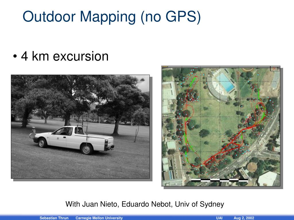 Outdoor Mapping (no GPS)