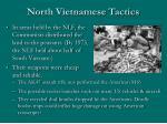 north vietnamese tactics