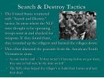 search destroy tactics