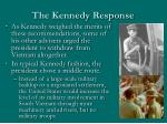 the kennedy response