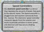 speed controllers