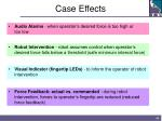 case effects