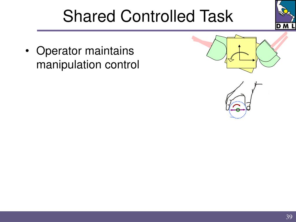 Shared Controlled Task