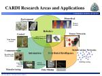 cardi research areas and applications
