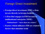 foreign direct investment2