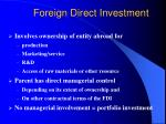 foreign direct investment3