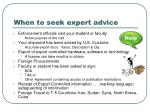 when to seek expert advice