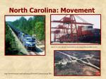 north carolina movement