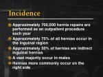 incidence