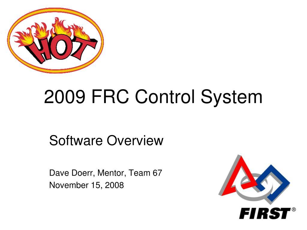 2009 frc control system l.