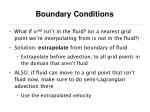 boundary conditions56