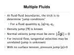 multiple fluids