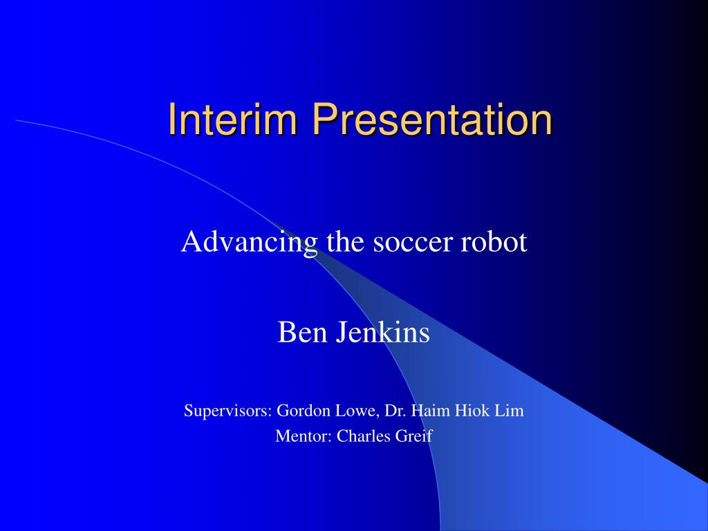 interim presentation l.