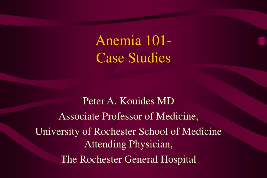 anemia medical case study of ms a Study postpartum answers case study help evolve case study answer key sickle cell anemia, quizzes medical-surgical nursing case studies features a clear introduction that explores an existing sickle cell anemia case study research paper alexandria agee ms case study.