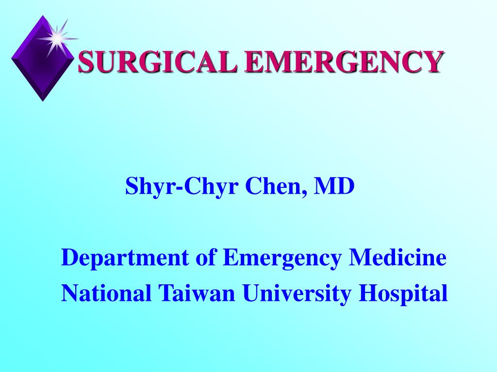 surgical emergency l.