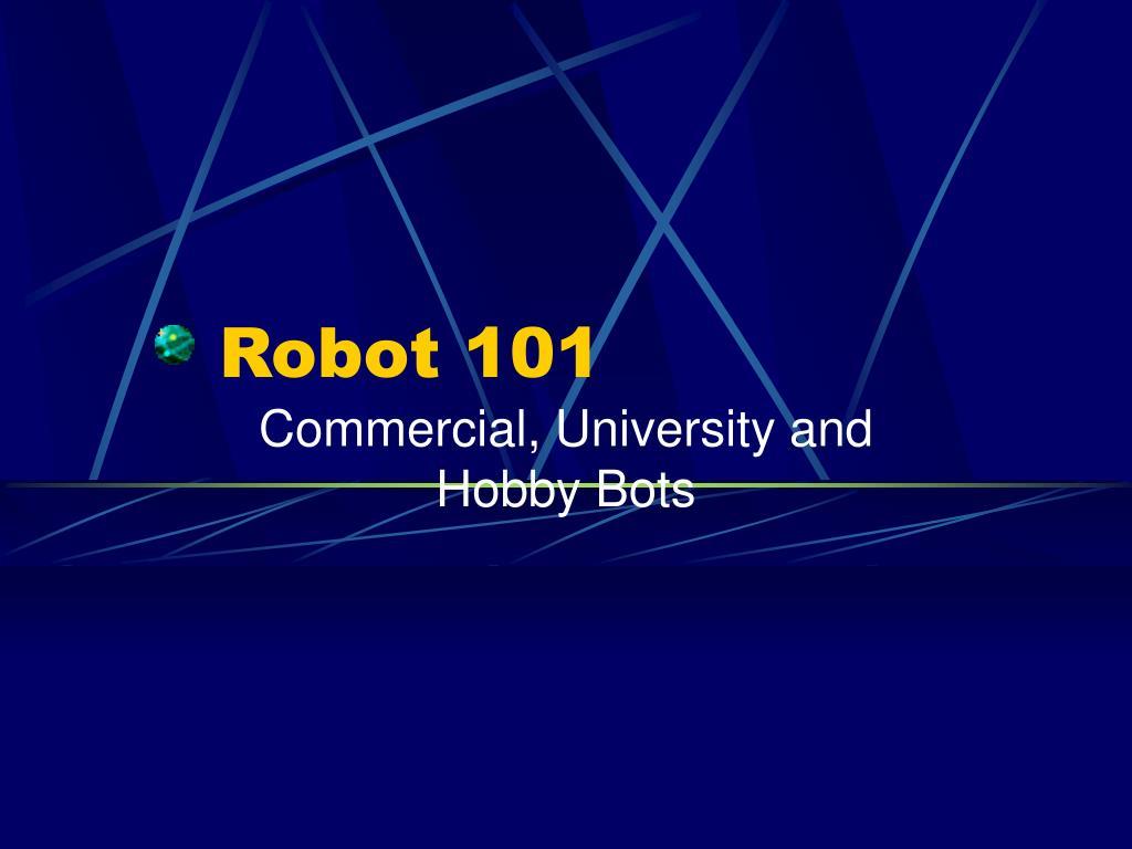 robot 101 l.