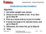 problem solving example23