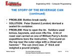 the story of the beverage can continued