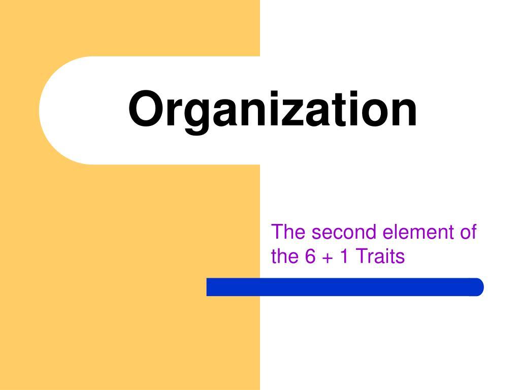 organization l.