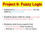 project 6 fuzzy logic