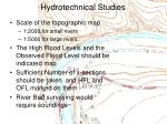 hydrotechnical studies7