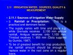 2 11 irrigation water sources quality measurement