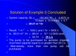 solution of example 3 concluded