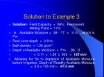 solution to example 3