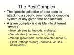 the pest complex