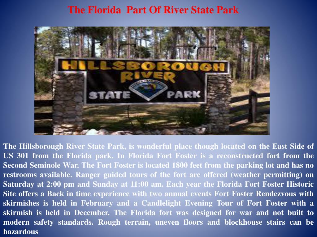 the florida part of river state park l.