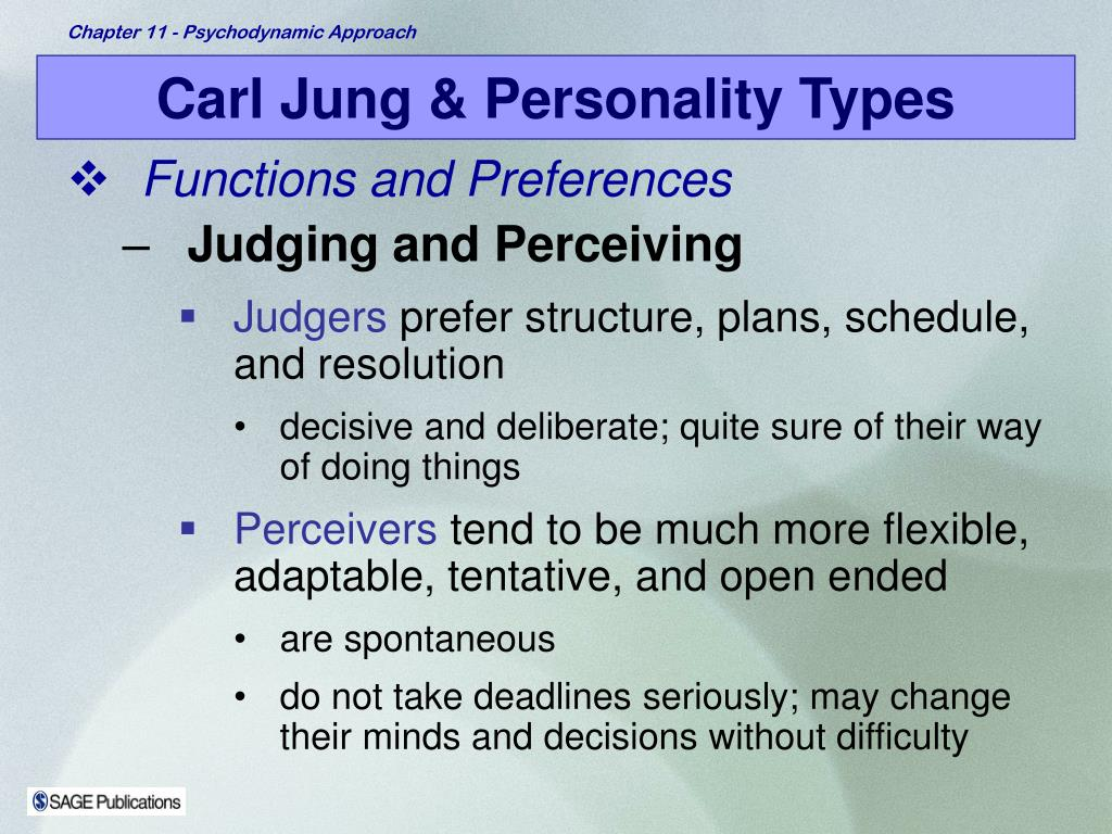 Carl Jung & Personality Types