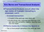eric berne and transactional analysis15