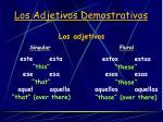 los adjetivos demostrativos3