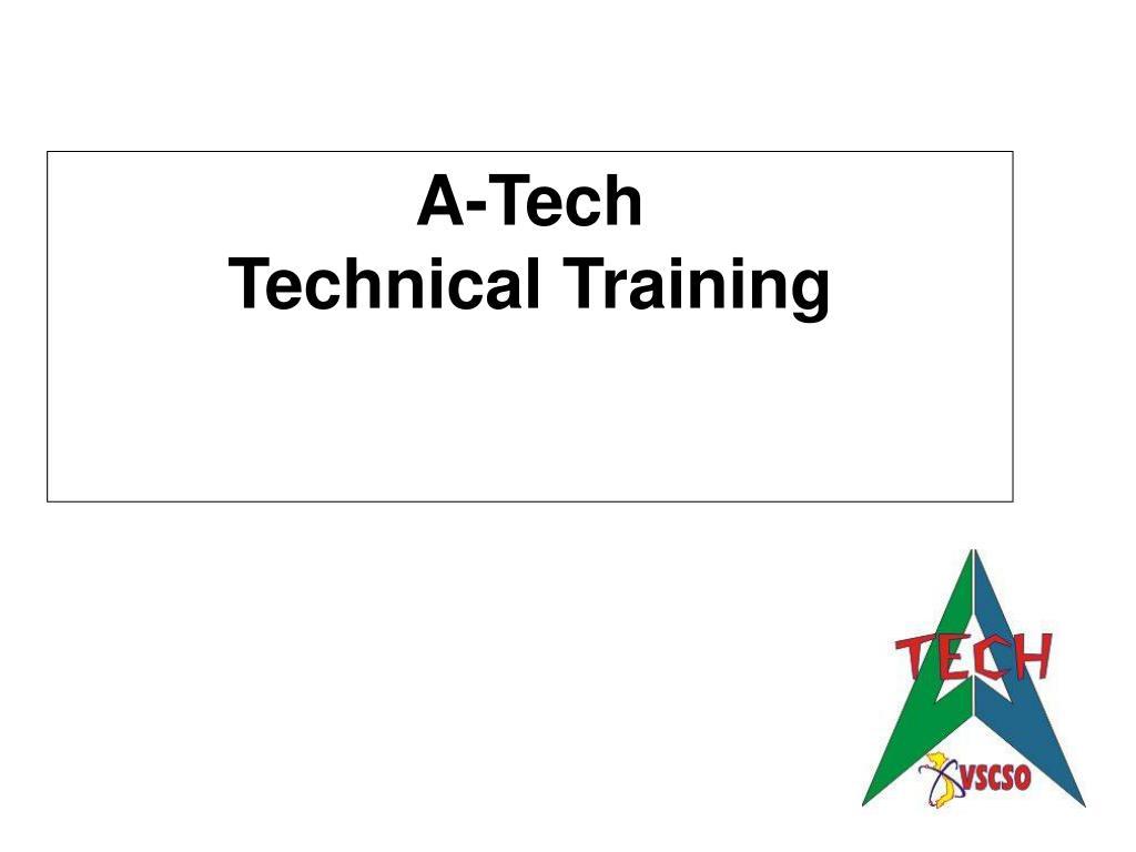 a tech technical training l.