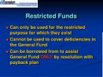 restricted funds13